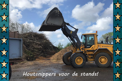 houtsnippers voor stands cars 'n bands