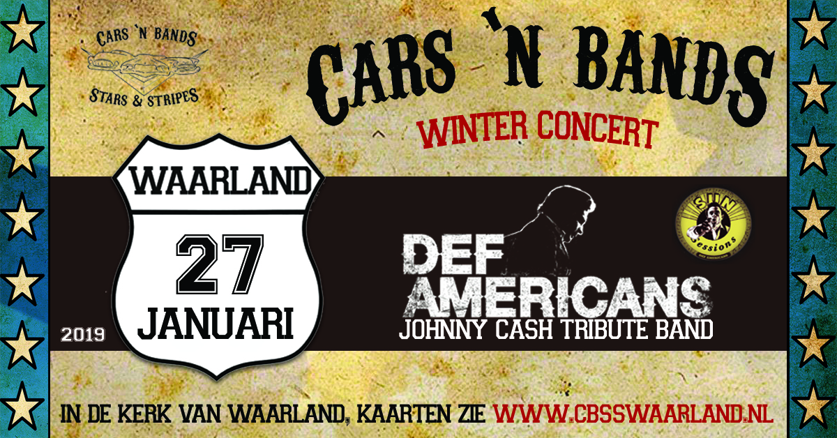 Cars n bands winterconcert 27 januari 2019