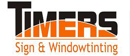 logo Timers Sign & Windowtinting
